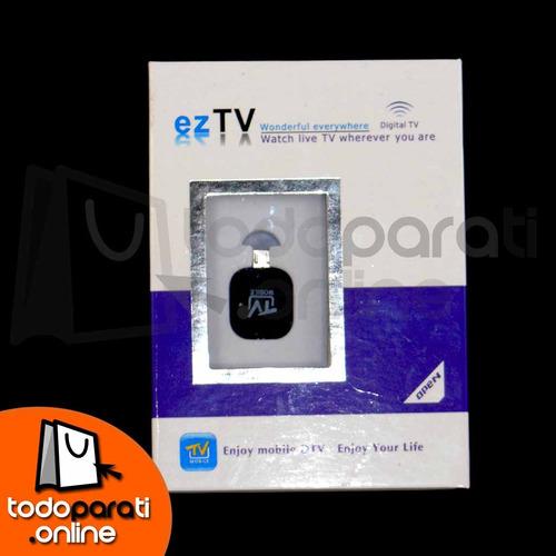 adaptador microusb tv digital
