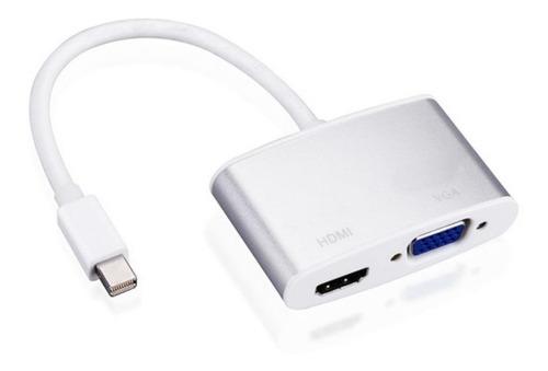 adaptador mini display port a hdmi vga audio netmak nm-c67