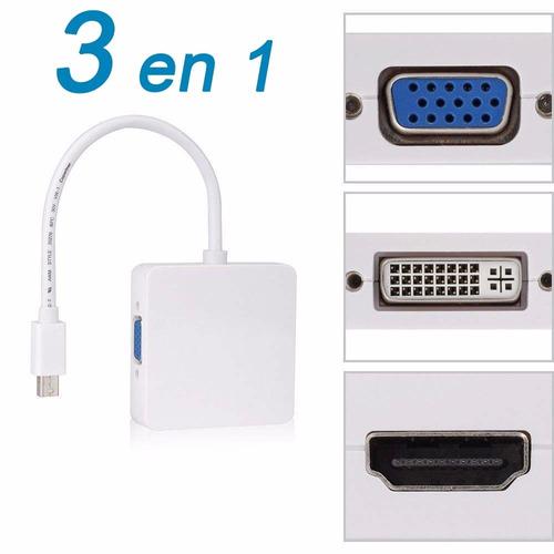 adaptador mini display port vga macbook hdmi air mac apple 3