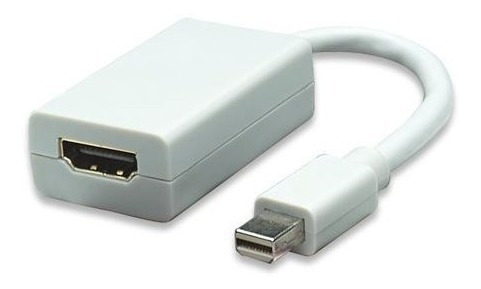 adaptador mini displayport macho a hdmi hembra manhattan