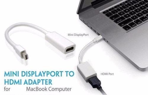 adaptador mini displayport thunderbolt a hdmi apple mac pr