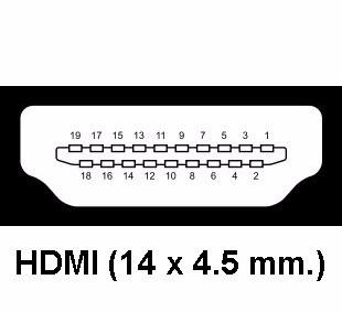 adaptador mini hdmi a hdmi de bisagra