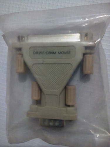 adaptador mini modelo db25fdb9m