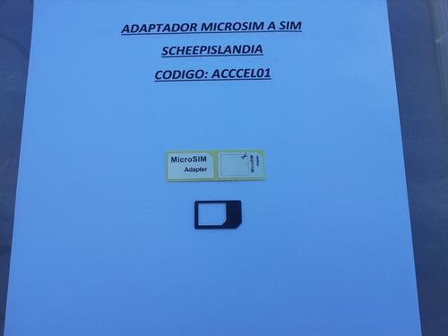 adaptador mocrosim a sim acccel01