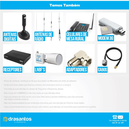 adaptador + modem 3g desbloqueado huawei e3131 10 mts cabo