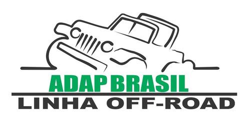 adaptador motor ap x câmbio do fusca adap brasil