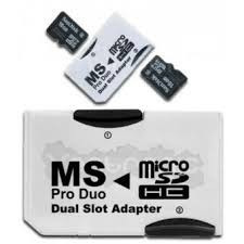 adaptador ms pro duo doble envio gratis