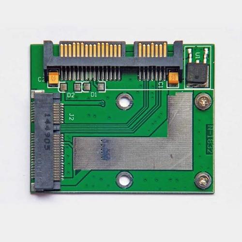 adaptador msata a sata 2.5 disco ssd