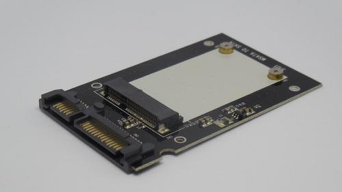 adaptador msata ssd a 2.5 sata para disco laptop