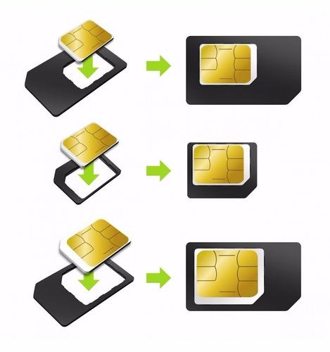 adaptador nano chip + microsim