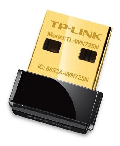 adaptador nano usb wifi tplink wn 725n 150 mbps simmcye