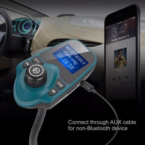 adaptador nulaxy inalámbrico bluetooth transmisor fm