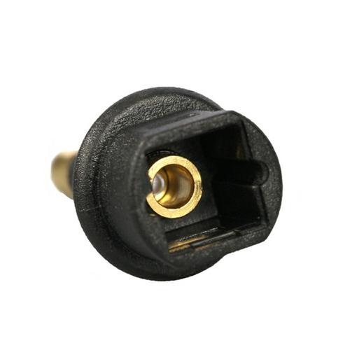 adaptador óptico mini toslink home apple box tv super preço