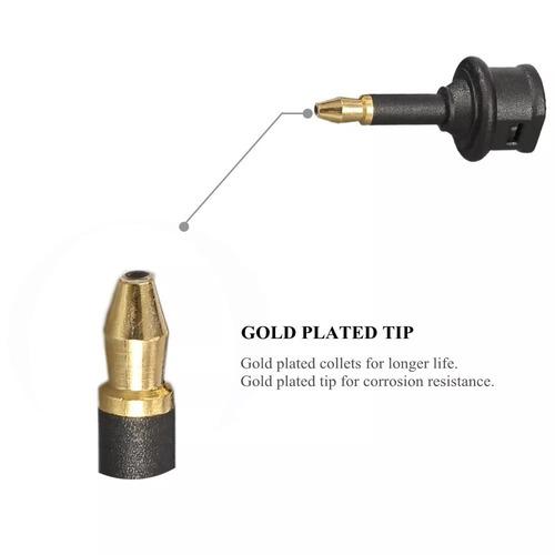 adaptador óptico s/pdif toslink para mini toslink p2 - spdif