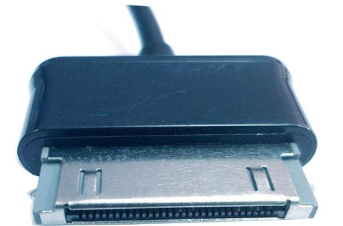 adaptador otg galaxy tab 13cm negro v1040