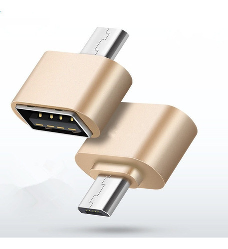 adaptador otg micro usb a usb pendrive mouse joystick