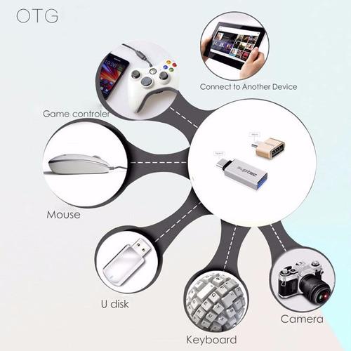 adaptador otg usb 2.0 a micro usb - geekexpress