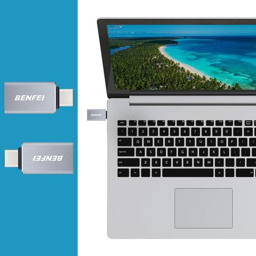 adaptador otg usb 3.0 - tipo c macbook s8 s9 note 8 pixel 2
