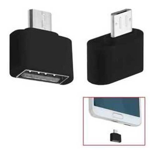 adaptador otg usb hembra a micro usb macho tablet