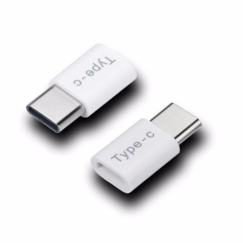 adaptador p cable de micro usb a tipo c