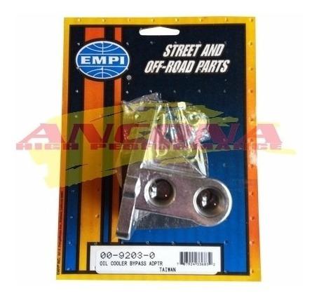 adaptador p/ instalar radiador externo fusca empi