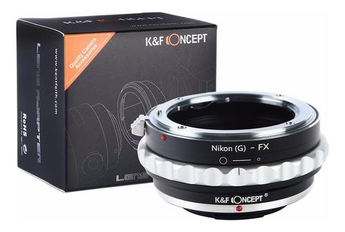 adaptador p/ usar lentes nikon g en camaras fujifilm fuji fx