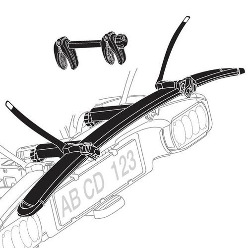 adaptador para adicionar 1 bike thule euroclassic g5 g6 9281