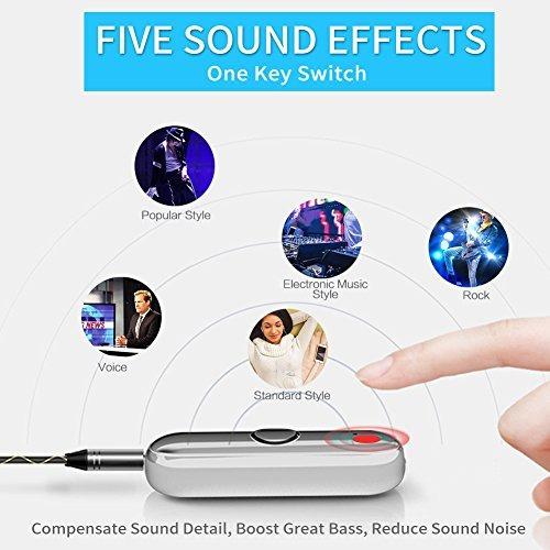 adaptador para auriculares de bluetooth inalámbrico portát