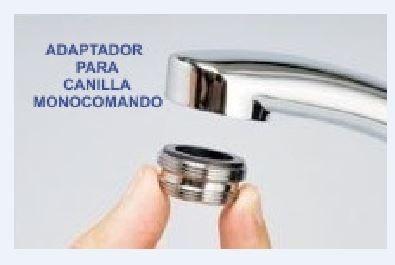 adaptador para canilla monocomando