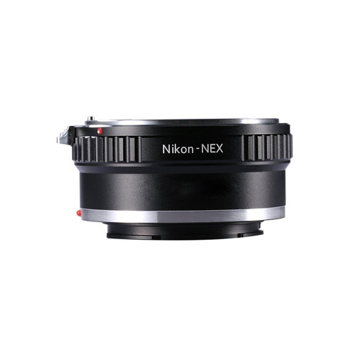 adaptador para convertir el objetivo nikon f-mount a montaje