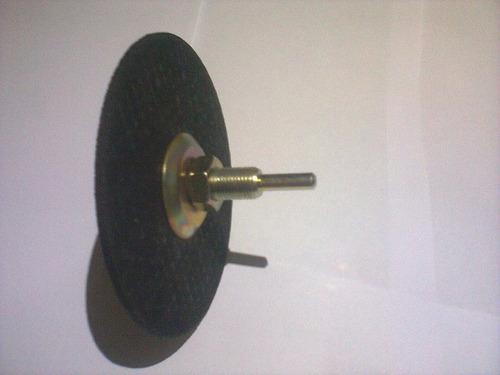 adaptador para  furadadeira.+ rebolo+disco de corte+brinde