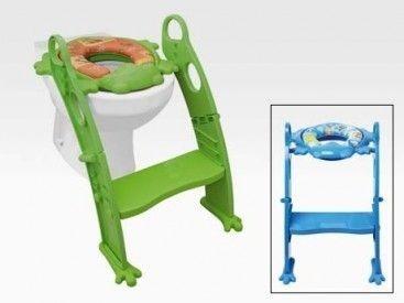 adaptador para inodoro con escalón y manijas - karibú