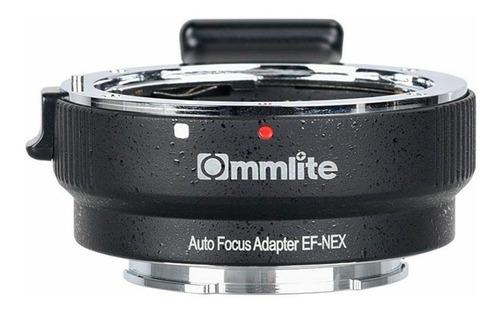adaptador para lentes canon ef o ef-s en montura sony e.