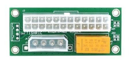 adaptador para ligar duas fonte atx add2psu ver004 mineração