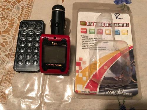 adaptador para radio de carro mp3 player car fm transmitter