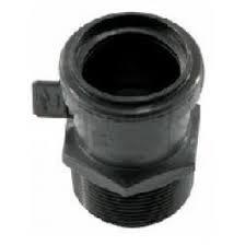 adaptador para sanitario rosca exterior 40x38 tuboplus 21000