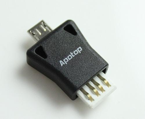adaptador para transferir archivos de memoria a celular