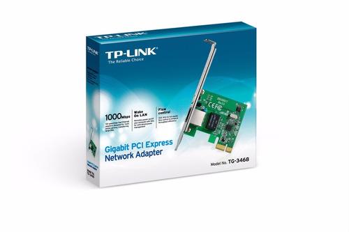 adaptador pci express gigabit tg-3468 tp-link / 3724