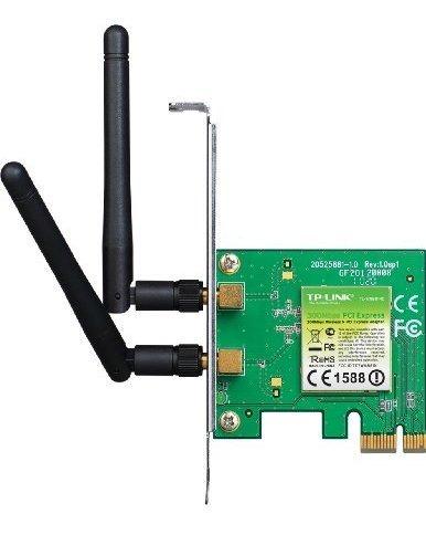 adaptador pci-express tp-link n300 inalámbrico (tl-wn881nd)