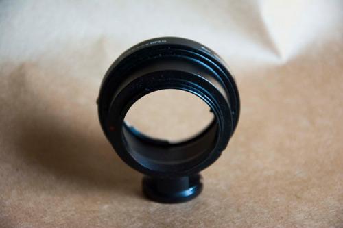 adaptador pixco camera sony nex para lentes nikon