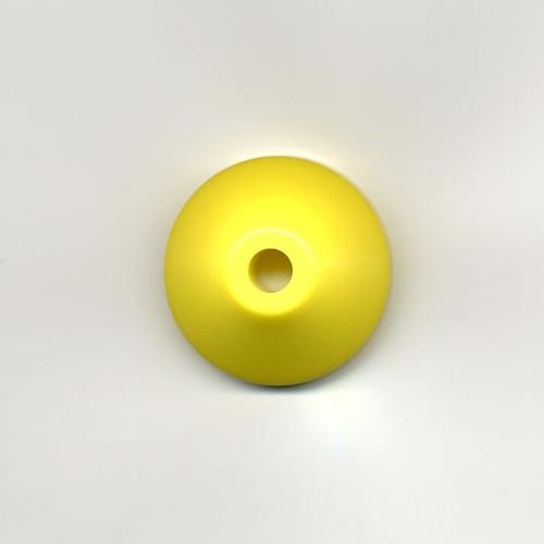 adaptador plástico amarelo - compactos - 45rpm - 7inch