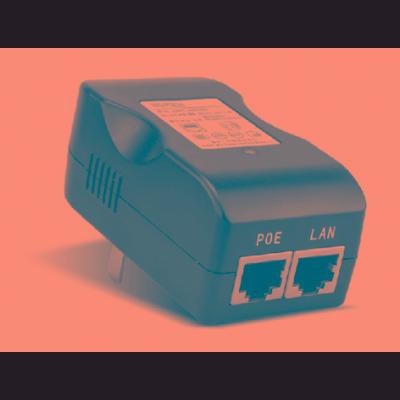 adaptador poe 48 vdc red 10/100/1000 wisnetworks wis-poe48g