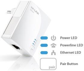adaptador powerline tp-link av500 nano 500mbps tl-pa4010