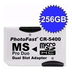 Adaptador Psp Micro Sd Memory Stick Ms Pro Duo Cr-5400 Photofast
