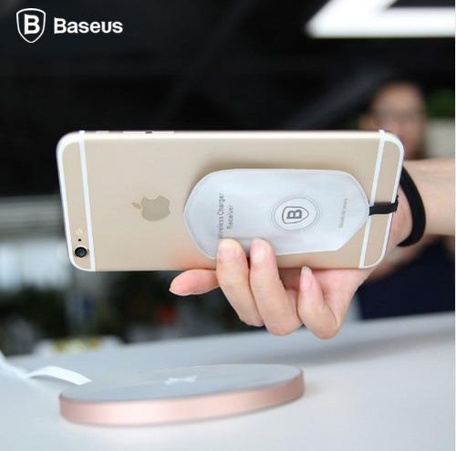 adaptador qi para iphone, para carga inalambrica