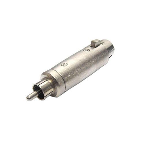 adaptador rca macho / xlr fêma c/ trava - skc 085 csr