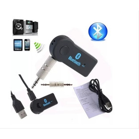 Adaptador Recargable De Bluetooth Auxiliar Para Reproductor
