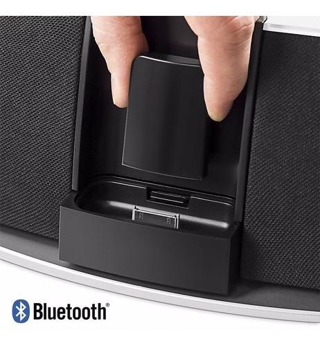 adaptador receptor audio bluetooth 30 pines bose jbl iphone