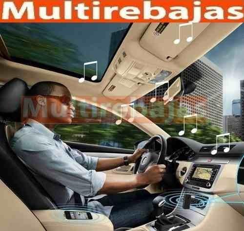 adaptador receptor auxiliar bluetooth para auto