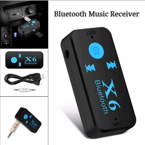 adaptador receptor bluetooth 4.1 lector microsd aux radio